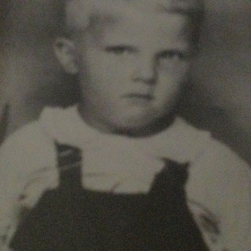 Dad as a child