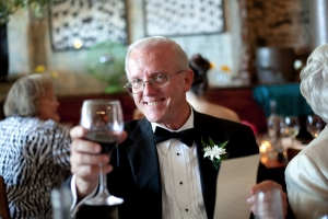 Dad at my wedding