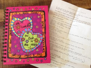 Candy Clay book and Friendship Cake recipe