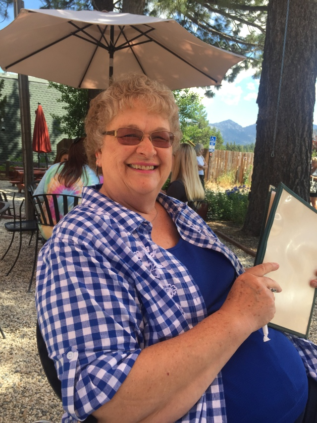 Photo of Orene Dunzweiler at a restaurant in Tahoe
